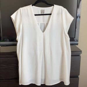 Off white maternity dress top